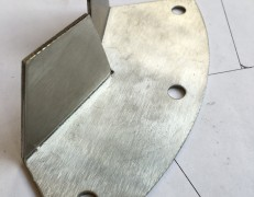 Stainless Filter Mounting For Lola Racing car