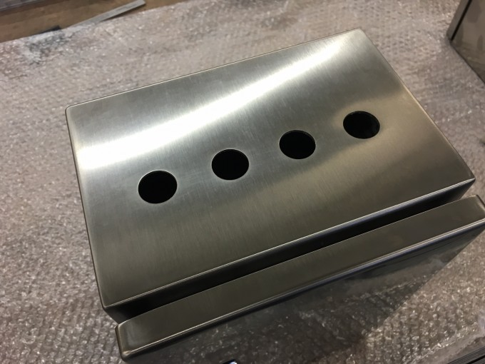 Stainless Steel Push Button Enclosure